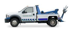 Junk Car Towing Tow Truck Image