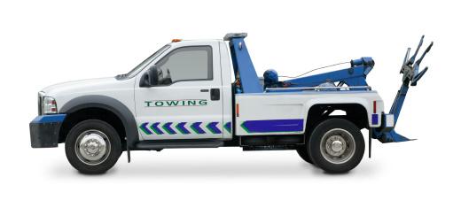 Junk Car Tow Truck Image